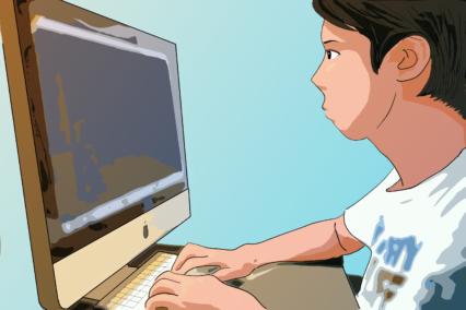 【GIMP】写真をトレースしてアニメ風イラストを作ってみた